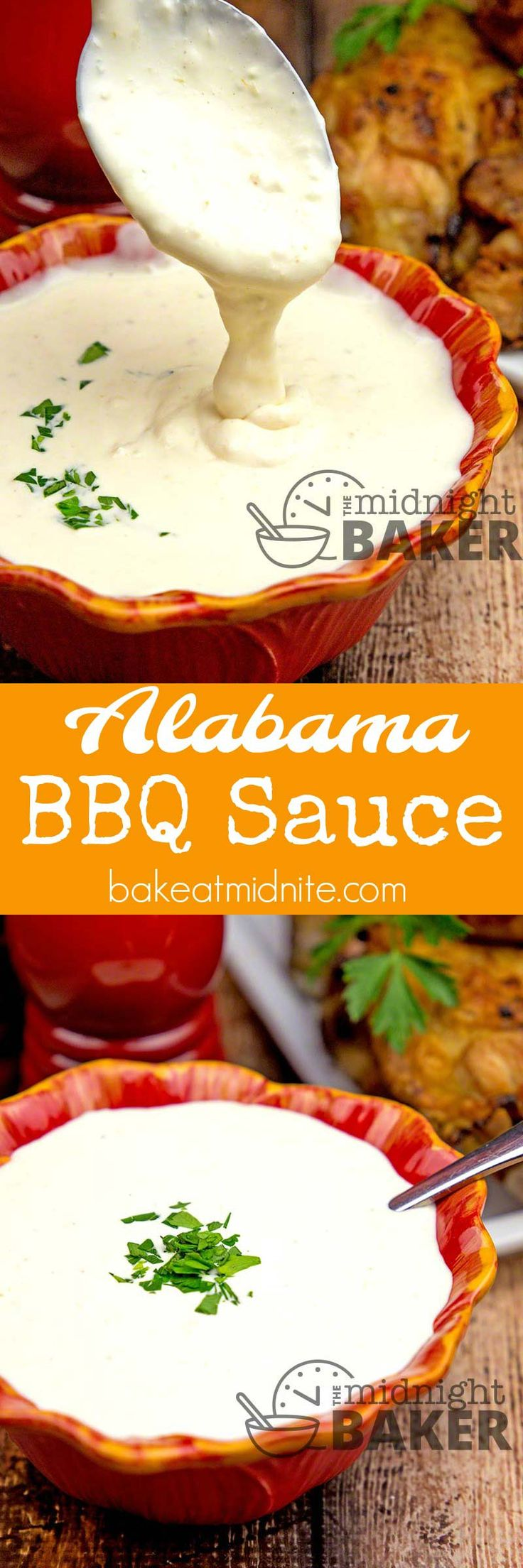 Great white BBQ sauce by way of Alabama.