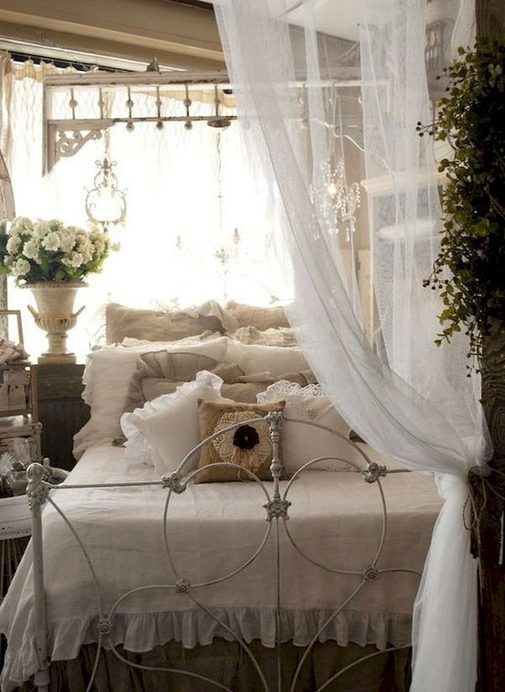 best 25 shabby chic beds ideas on pinterest shabby french chic romantic country bedrooms and. Black Bedroom Furniture Sets. Home Design Ideas