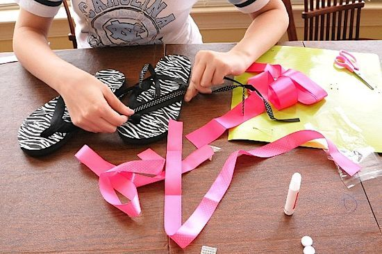 Decorate Flip Flop Craft Ideas | Flip Flop Fashions - Creativity for Kids Blog