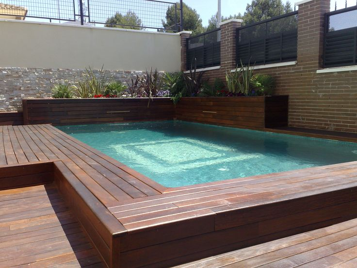 8 best images about piscina con jardineras y cascadas for Calculo estructural de una piscina