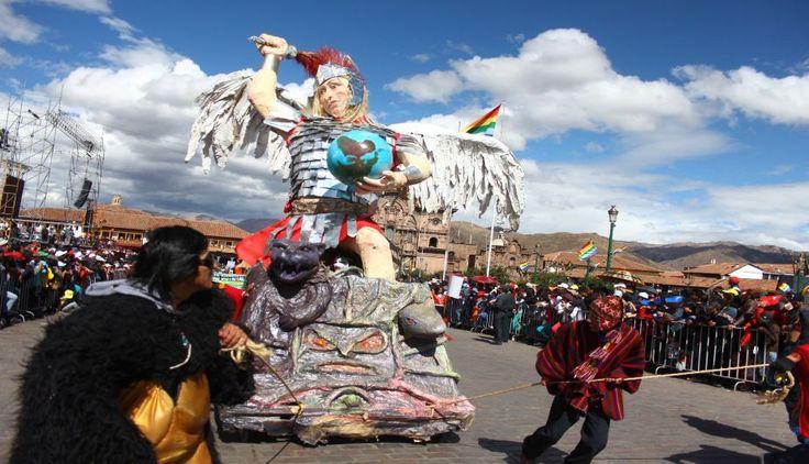#Cusco es una fiesta a ritmo de música y danzas típicas. #Trome