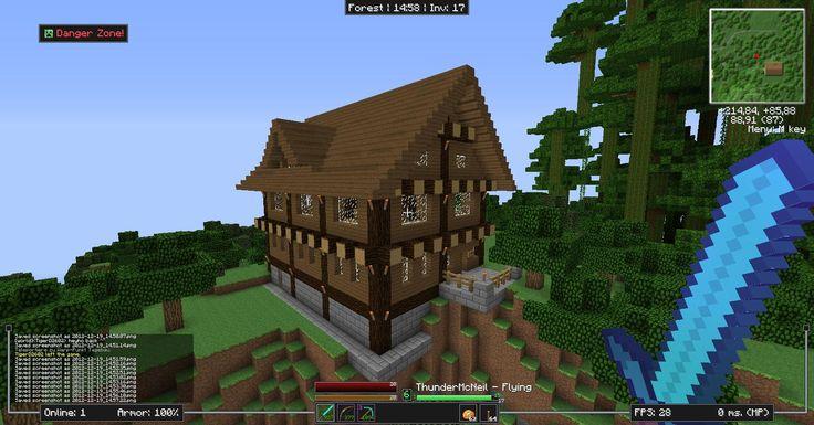 Minecraft haus kunst for Kleines minecraft haus