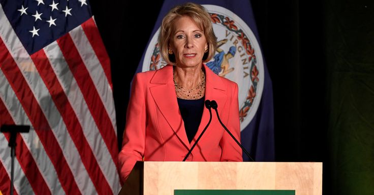 #MONSTASQUADD Betsy DeVos Says She Will Rewrite Rules on Campus Sex Assault