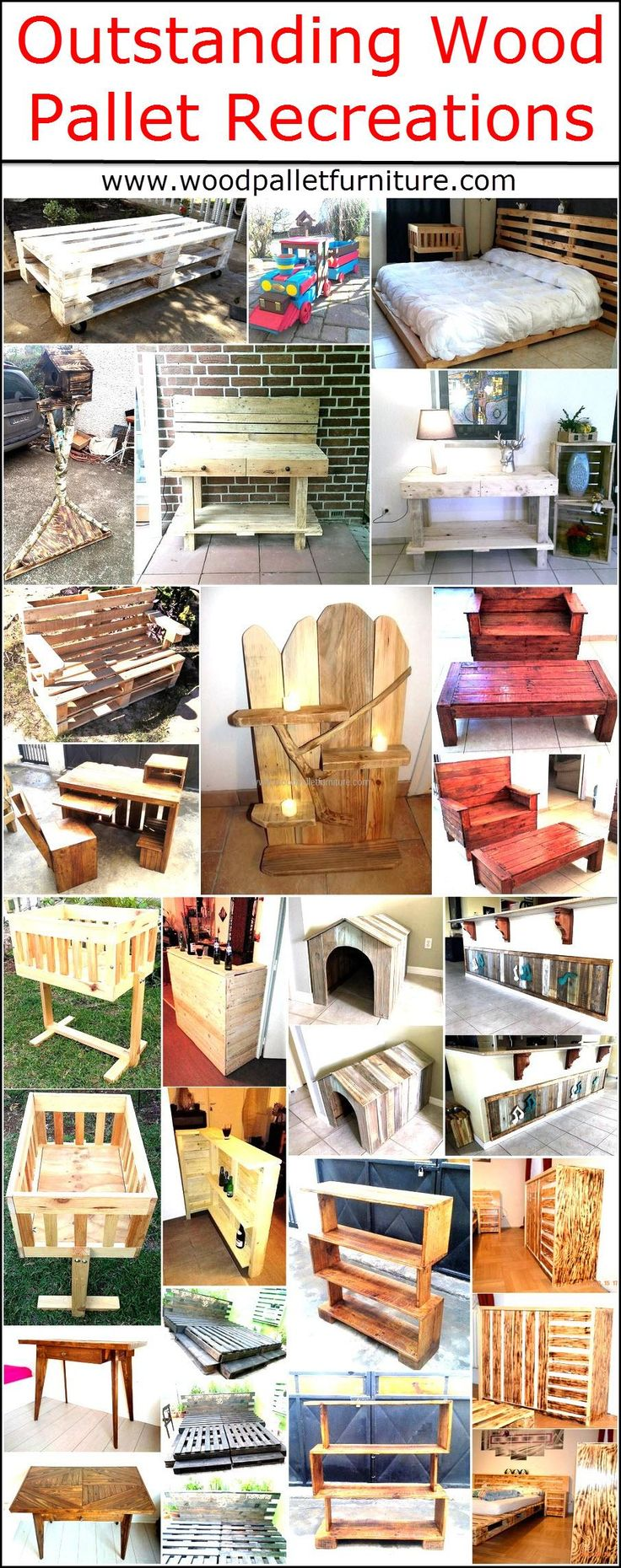 Not considering wood pallets useful even when they are available at home wastes the hard earned money because people go to the market and spend a huge amount of money for buying a small piece of furniture just because they don't know about the benefits the wooden pallets offer. Creating the furniture at home not only fulfills the need, but also helps in increasing the storage space as a person can design a furniture piece the way it contains a storage space just like a table which is empty…