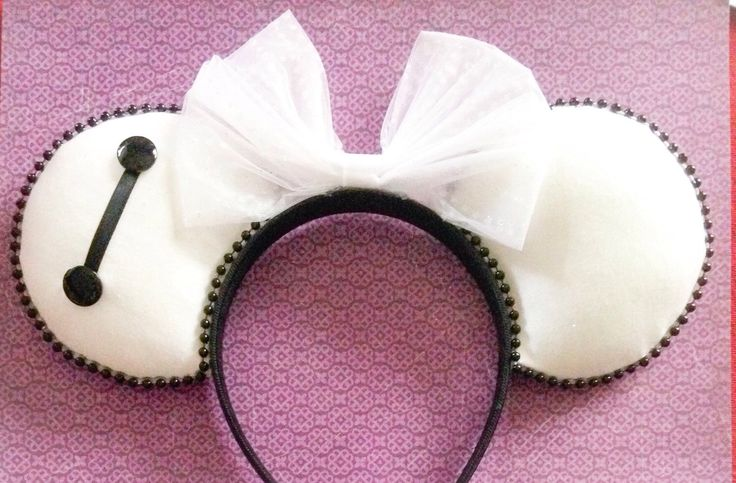 BAYMAX Mouse Ears by BeEarGuest on Etsy https://www.etsy.com/listing/212561288/baymax-mouse-ears