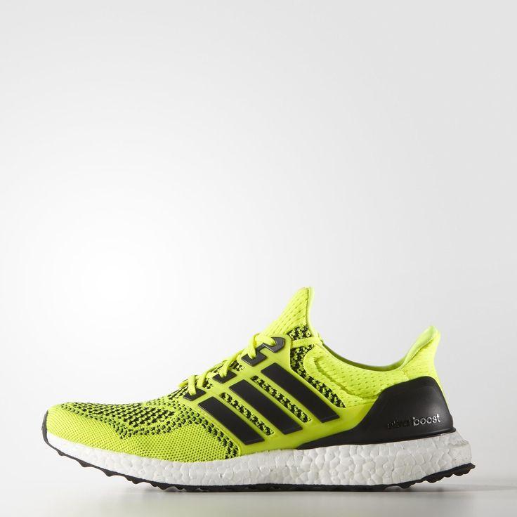 adidas Ultra Boost Shoes - Yellow | adidas UK