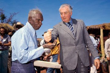 This unit explores the changes to democratic and citizenship rights of Aboriginal and Torres Strait Islander peoples since 1900. Students are led into issues through famous Australian speeches.