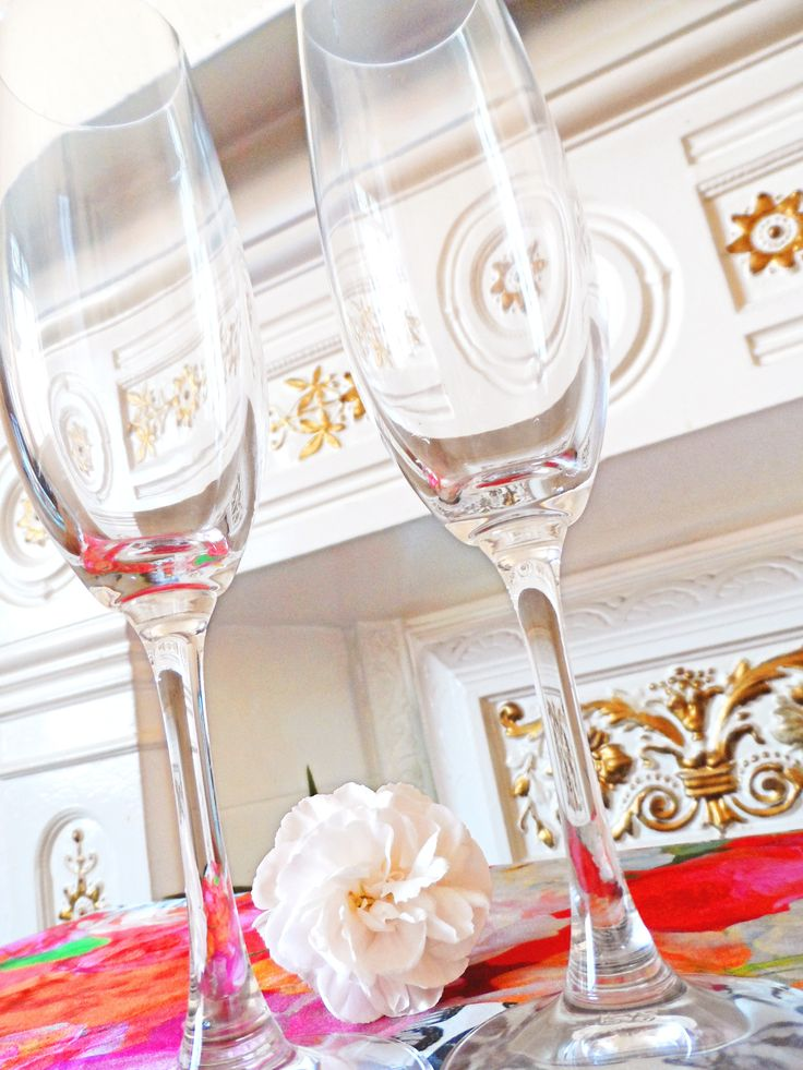 The fabulous Winelovers Champagne Flutes from Spiegelau.