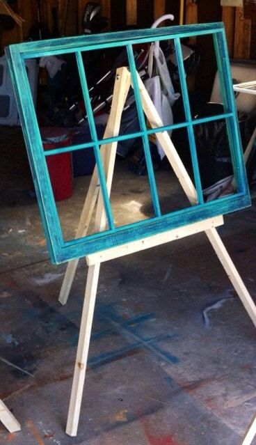 Rustic Wedding Easel Display Easel Window Display