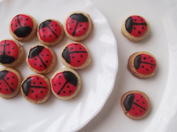 ladybug cookies.