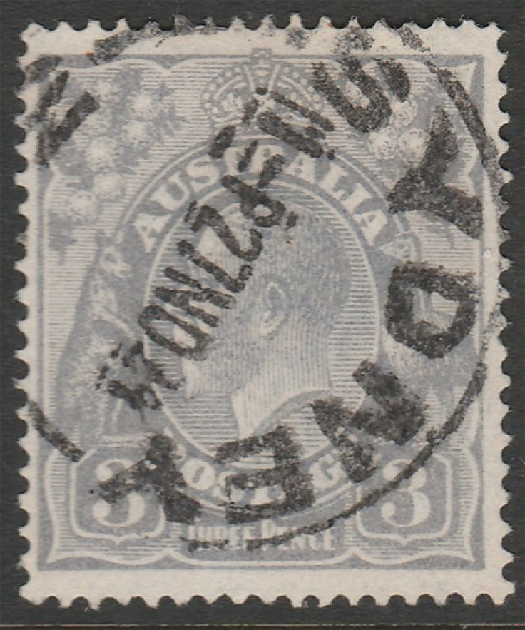 KGV Heads 3d KGV Bright Violet-Blue ACSC 104c Die 1 Single wmk  Dry Ink. Find more KGV Heads at Stamp Shop