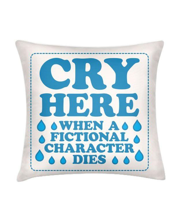CRY HERE PILLOW I need this for watching anime