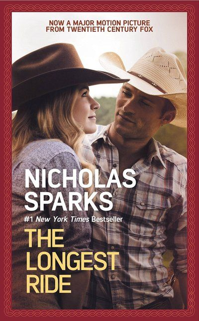 The Longest Ride - Nicholas Sparks Ira is stranded after a car crash and struggles to regain consciousness by thinking about his wife who passed away nine years ago. Sophia meets a young cowboy named Luke and is introduced to a world where the stakes are high. Two couples stories converge in unexpected ways.