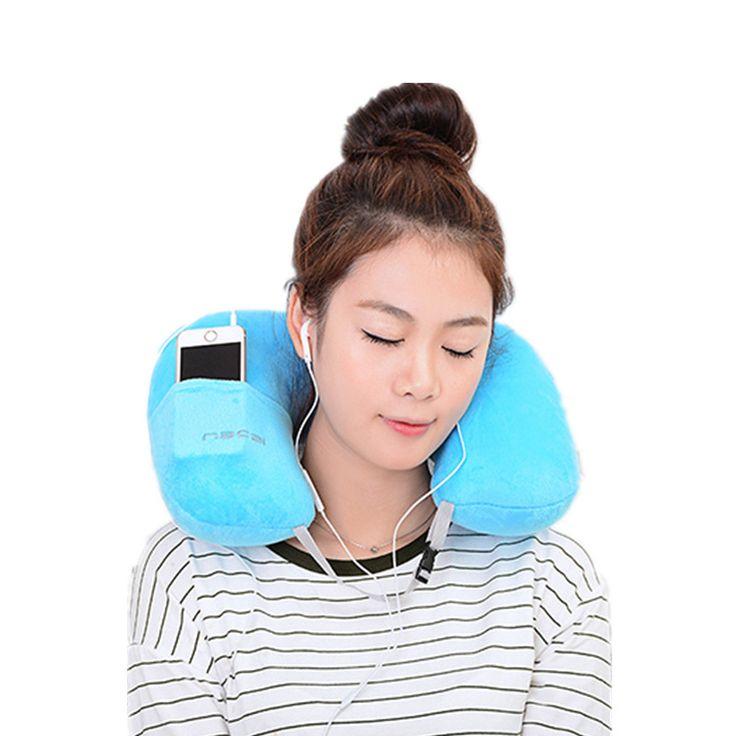 U-Shape Inflatable Neck Pillow //Price: $11.95 & FREE Shipping //   #picoftheday #amazing #travelling #travelingram #instagood