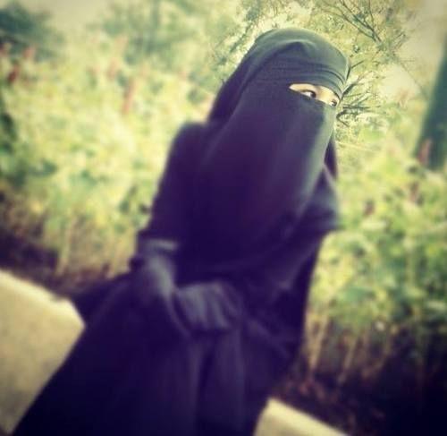 Niqab.                               ~Amatullah♥