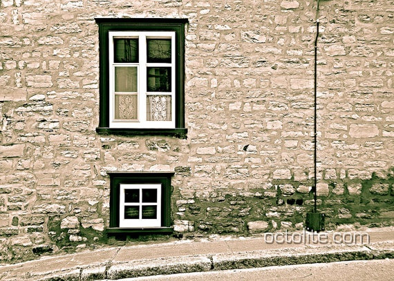 Fine Art Photography  Old Quebec City V  Giclee Print by Octolite, $13.50