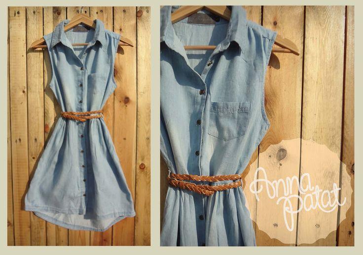 denim dress www.annapatat.someammo.com