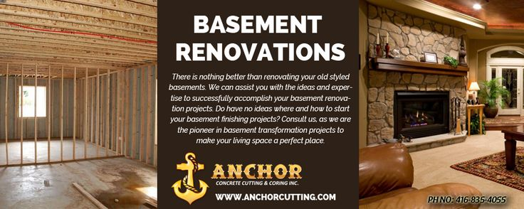 Make different your #Basement from others & get great #finishing, so join with us for for #basementrenovation #services in #Brampton. We have also much tips for #basementrenovate. So visit at anchorcutting.COM today !! #BasementRenovationServicesBrampton Contact Info:- 416-835-4055 visit: http://www.anchorcutting.com/basement-renovations-services.html