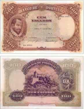 100 escudos I , 1920
