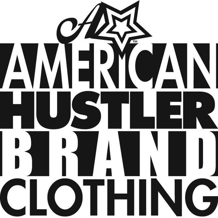 American Hustler Brand Clothing logo design