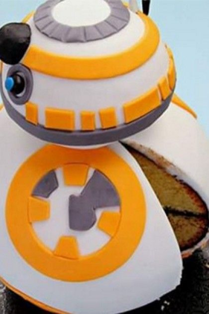 The Force Is Strong With This Star Wars Diy Bb8 Cake