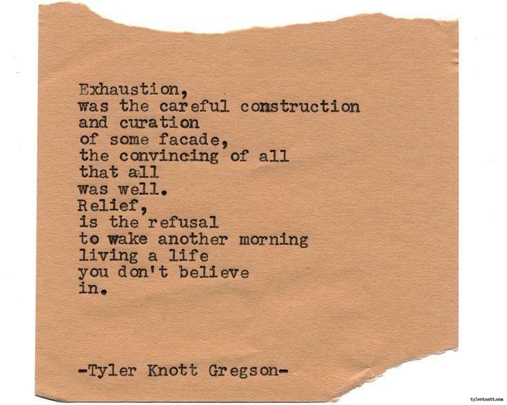 Typewriter Series #1742 by Tyler Knott Gregson