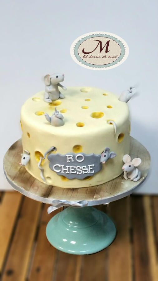 CAKE CHEESE AND MOUSE - Cake by MELBISES