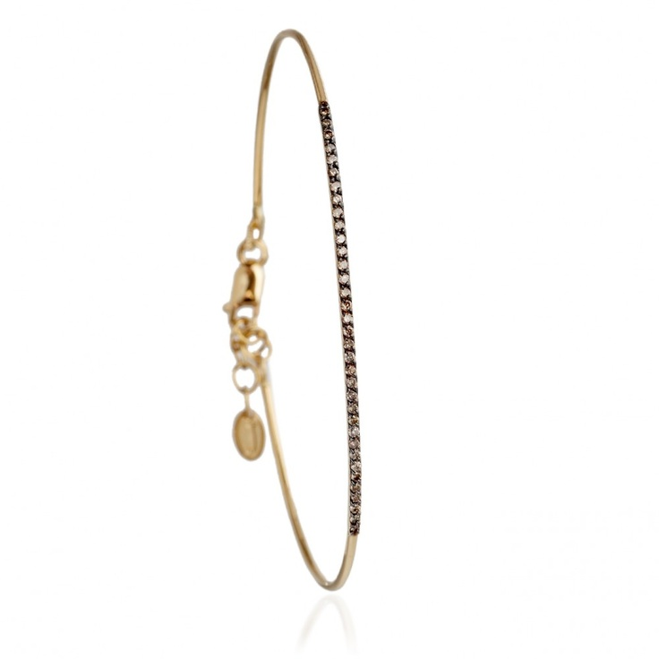 Juju Diamond Bar Bangle by JADA