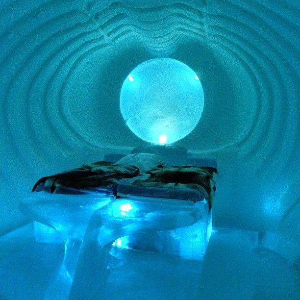 Icehotel itt: Jukkasjärvi, Norrbottens län