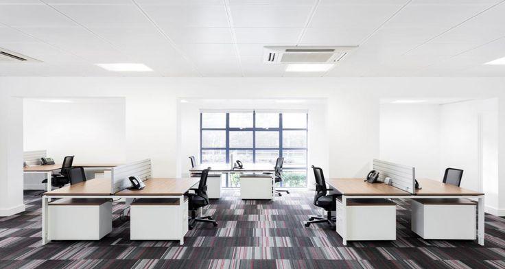 Open space dans les bureaux de Stanley Black & Decker à Inverness, Ecosse