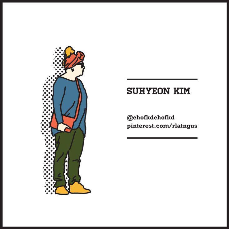 #suhyeonkim illustration drawing photography typography