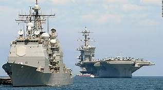 US strike group headed toward Korean Peninsula