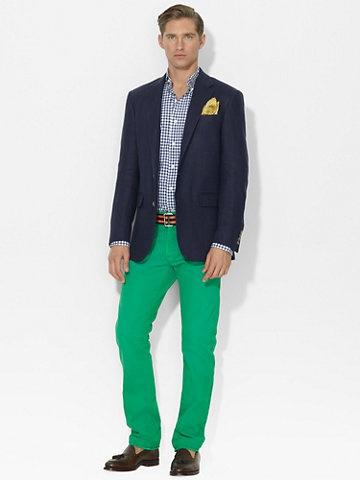 Linen Hopsack Sport Coat - Sport Coats  Men - RalphLauren.com
