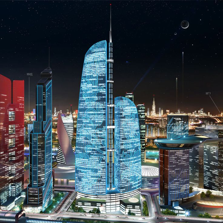 Making of panoramic images for Federation Tower website. Part Four