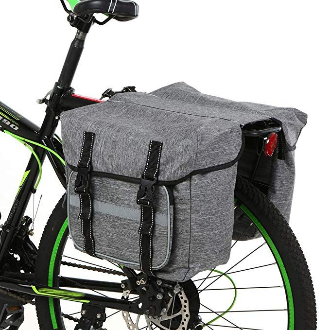Bicycle Front Saddle Bag Magnetic buckle Tail Bags For Brompton Folding bike