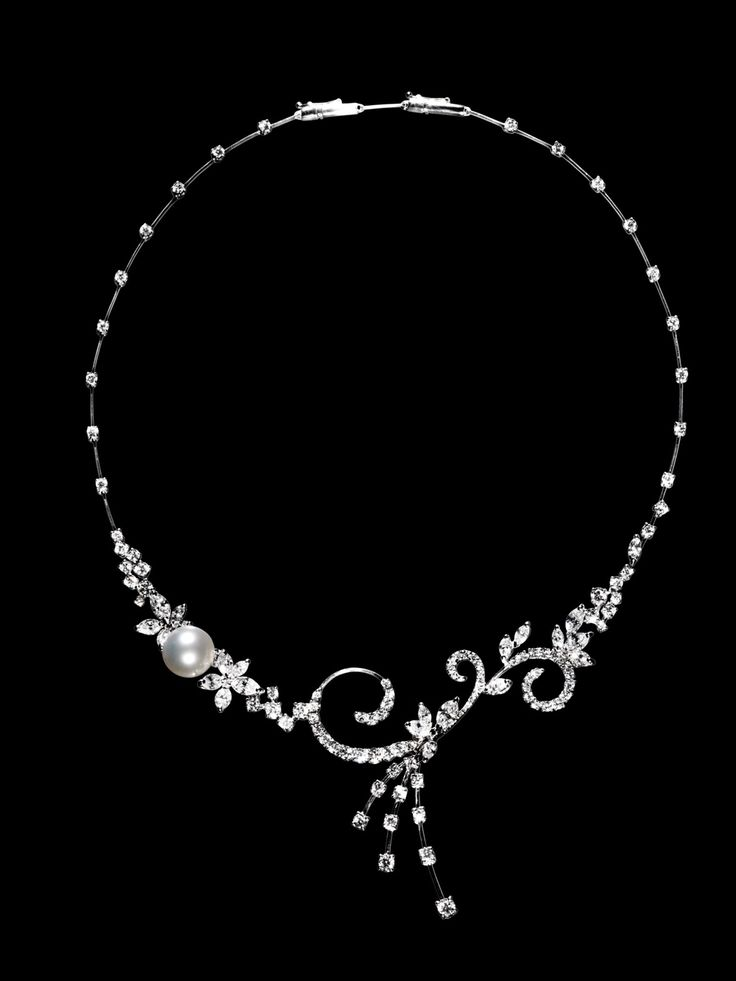 Rosendorff Indulgence Collection Diamond and Pearl Necklace