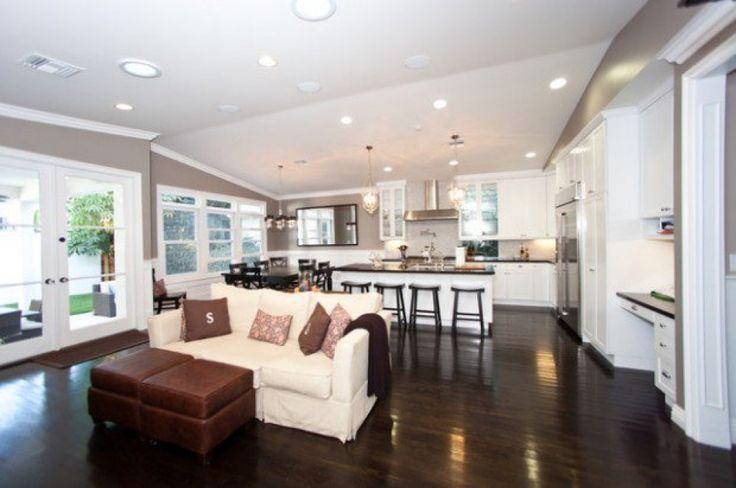 Kitchen And Living Room Designs  Good Kitchen And Living Room Design Ideas Open Plan Kitchen Living Best Model