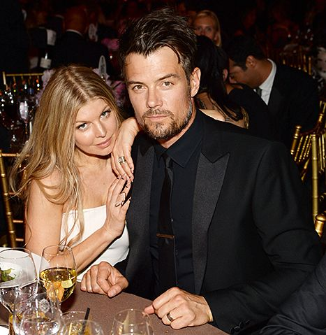 Fergie and Josh Duhamel attend an event in 2014