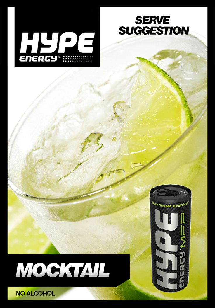 TRY THIS! Our new TUTTI FRUITY MOCKTAIL made with Hype Energy MFP. #DRINKUP ! #BELIEVE #HYPEENERGY   tutti fruity - 2 parts apple juice - 1 part lemonade - 1 part ginger ale - 2 parts Hype Energy MFP - Slices of lime - Ice cubles Garnish: Slice of lime and mint leaves   Read more: http://www.hype.com/energy-drinks/mfp/mpf-recipes/tutti-fruity-mocktail-recipe/
