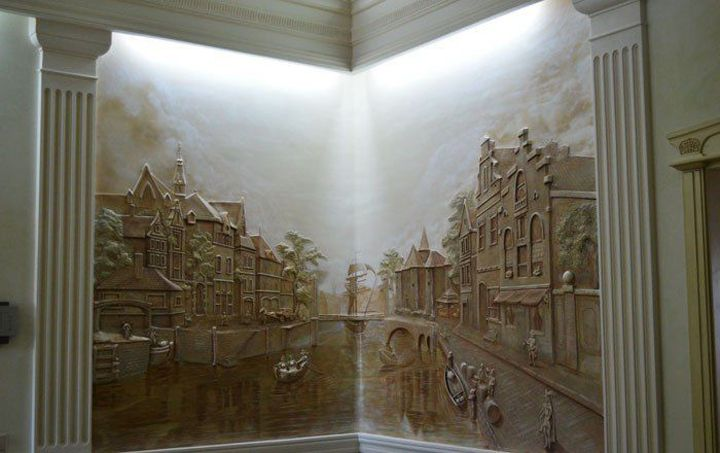 Stunning art ideas in decorating the walls - Alexei Cotelea