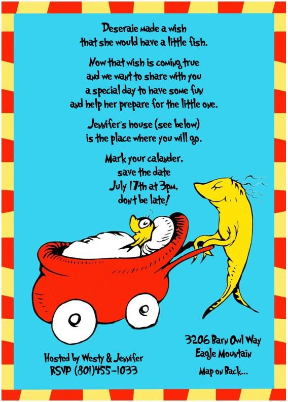 Dr. Suess Baby Shower Ideas | Form Various Other Websites Suessland And  Really Good Stuff