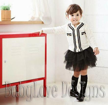 White Top and Black Skirt Set $27 + P&H