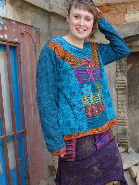 Our trademark intricate cut work top. #himalayanhandmades #hippieclothing