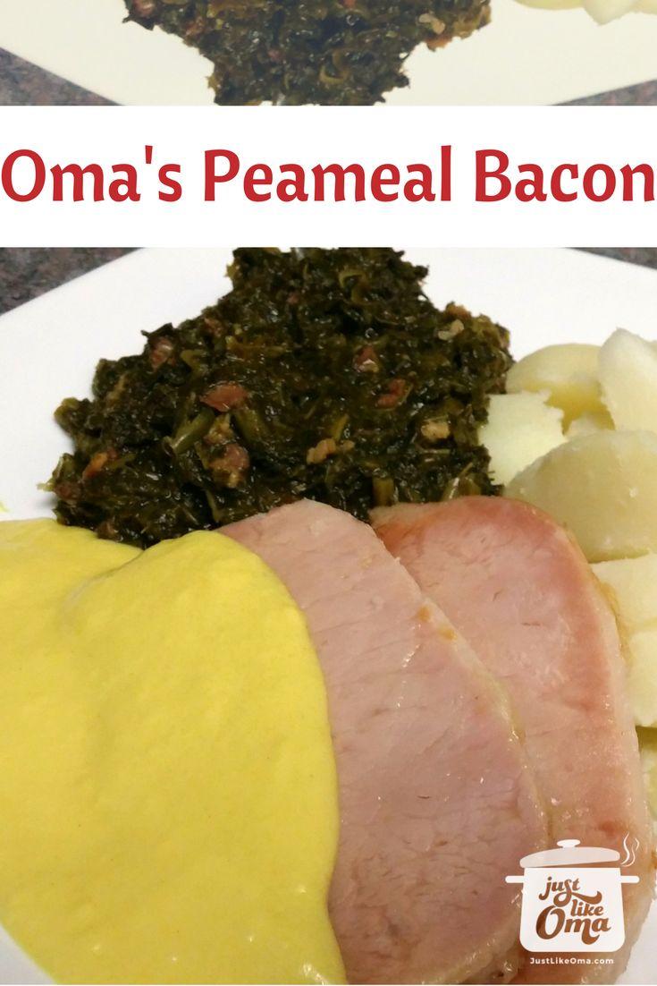 Peameal Bacon Recipe (kasseler?) Made Just Like Oma œ� �️