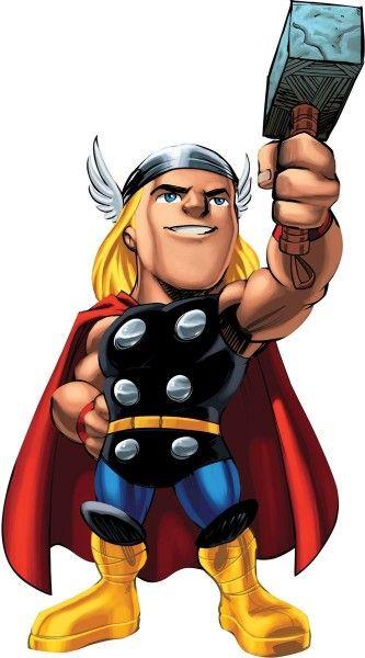 Image detail for thor superhero squad.