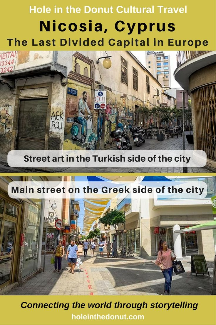 Since the Turkish invasion of Cyprus in 1974, the city of Nicosia, Cyprus, has been divided in half, making it the last divided capital city in Europe via @holeinthedonut