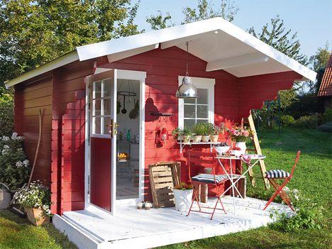 Die 25 besten ideen zu gartenhaus selber bauen auf pinterest selbstgebauter schuppen - Gartenhaus stockholm ...