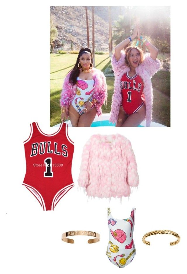 """Beyonce and Nikki Manaj Get the look"" by stylistlilleepete ❤ liked on Polyvore"