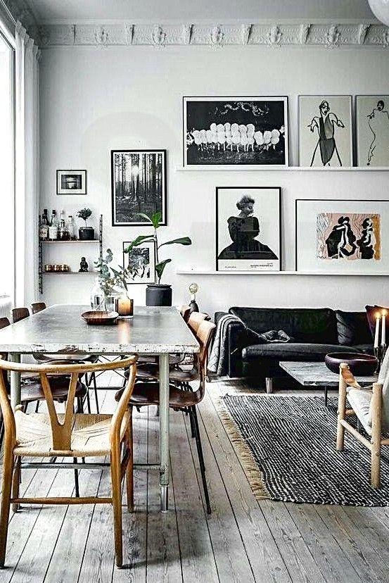 Homestory Interieur Wohnzimmer Tisch Esszimmer Vintage