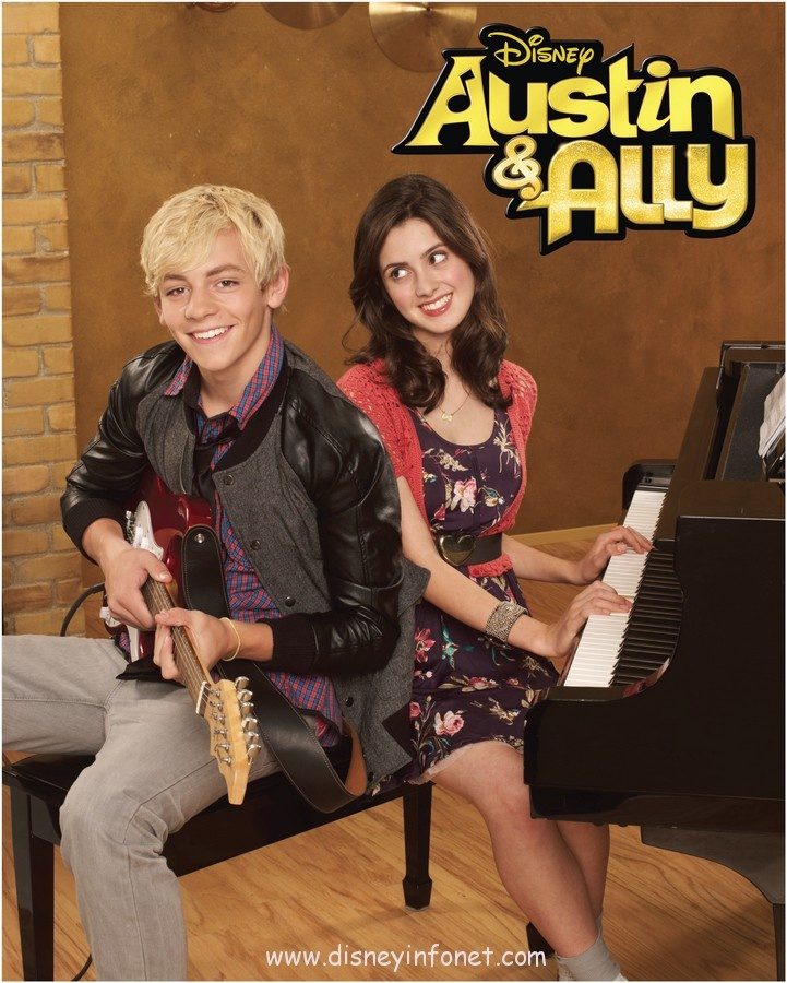 Não perca os novos episódios da nova temporada de Austin e Ally.